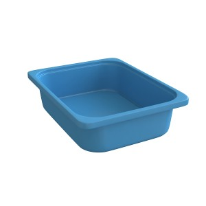 Rounded Throwin Storage Bins Small Blue