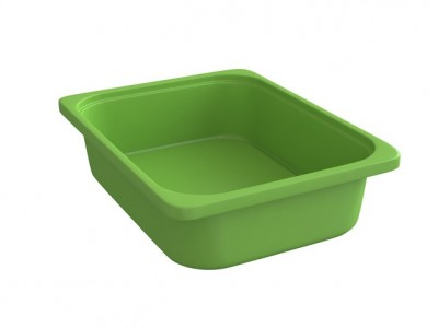 Rounded Throwin Storage Bins Small Green