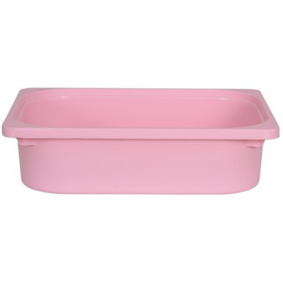 Rounded Throwin Storage Bins Small Pink