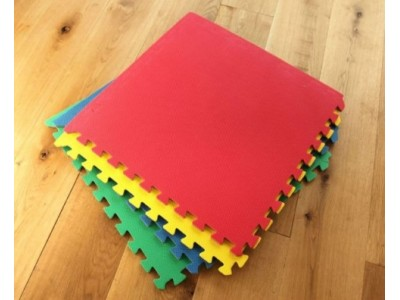 Colorful Eva Mats (Set of 4 Pcs)