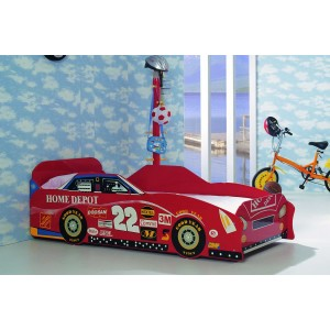 KKCB013-Goodyear Red Sports Car Bed