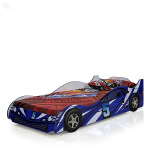 Blue Toddler Car Bed-CB0021