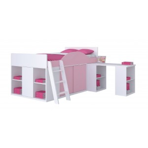 KKCOM002-Harita Comprehensive Bed Pink