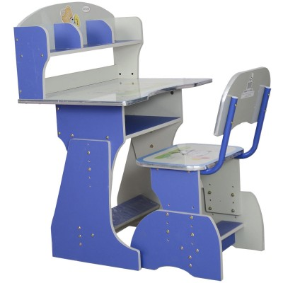 Marc Kids Table and Chair Set (Blue)
