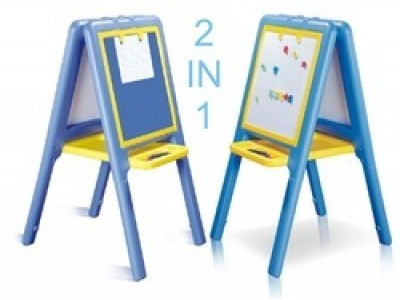2-Way Easel Board for Kids Room