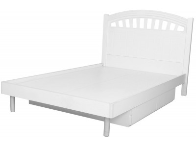 Blanc Victorian White Kids Twin Bed