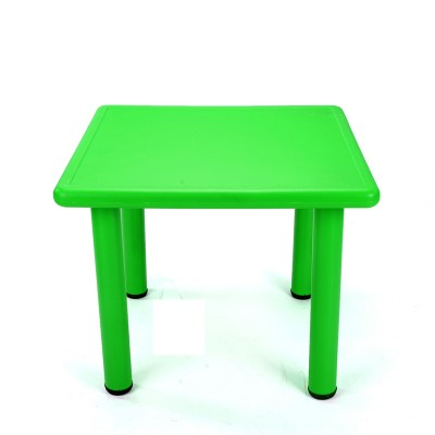 Square Plastic  Activity Table for Kids - Green