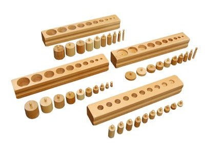 Montessori Materials - Cylinder Blocks