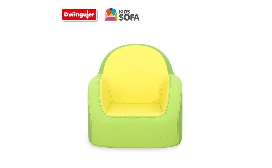 Dwinguler Kids Sofa - Lime Green
