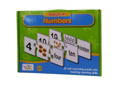 Match It Numbers Puzzle - 55160