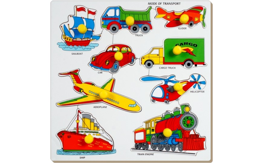 SPL-03 Little Genius Large Tray Transport Puzzle